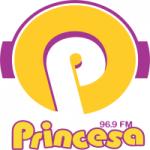 Logo da emissora Rádio Princesa 96.9 FM