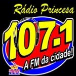 Logo da emissora R�dio Princesa 107.1 FM