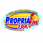 Logo da emissora Rádio Propriá 104.9 FM