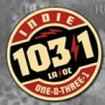 Logo da emissora Radio Indie 103.1 FM