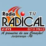 Logo da emissora Rádio Radical 87.9 FM