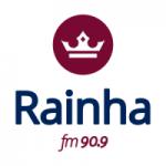 Logo da emissora Rádio Rainha 90.9 FM