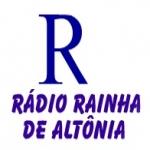 Logo da emissora R�dio Rainha do Oeste 1450 AM,