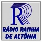 Logo da emissora Rádio Rainha do Oeste 1450 AM,