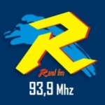 Logo da emissora Rádio Real 93.9 FM