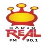 Logo da emissora Rádio Real 90.1 FM