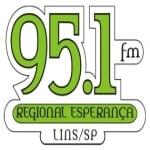 Logo da emissora Rádio Regional Esperança 95.1 FM