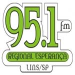 Logo da emissora R�dio Regional Esperan�a 95.1 FM