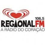 Logo da emissora Rádio Regional 106.5 FM