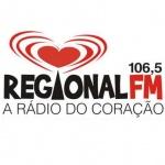 Logo da emissora R�dio Regional 106.5 FM
