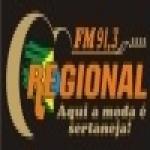 Logo da emissora R�dio Regional 91.3 FM