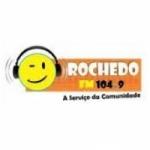 Logo da emissora Rádio Rochedo 104.9 FM