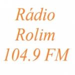 Logo da emissora R�dio Rolim 104.9 FM