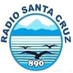 Logo da emissora R�dio Santa Cruz 890 AM