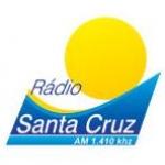 Logo da emissora Rádio Santa Cruz 1410 AM