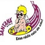 Logo da emissora R�dio Santana 900 AM