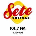 Logo da emissora Rádio Sete Colinas 101.7 FM