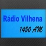 Logo da emissora Super Rádio Vilhena 1450 AM