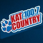 Logo da emissora KATJ 100.7 FM