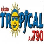 Logo da emissora Rádio Tropical 790 AM