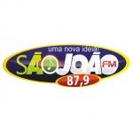 Logo da emissora Rádio São João 87.9 FM