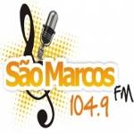 Logo da emissora R�dio S�o Marcos 104.9 FM