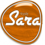 Logo da emissora Rádio Sara Brasil 89.1 FM