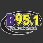 Logo da emissora KBBY 95.1 FM