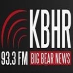 Logo da emissora Radio KBHR 93.3 FM