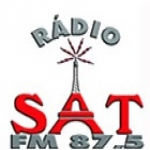 Logo da emissora R�dio Sat 87.5 FM