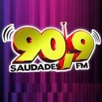 Logo da emissora R�dio Saudades 90.9 FM