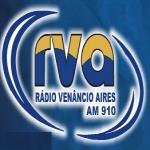 Logo da emissora R�dio Ven�ncio Aires 910 AM