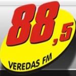 Logo da emissora R�dio Veredas 88.5 FM