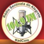 Logo da emissora R�dio Sentinela 104.9 FM