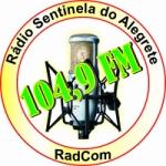 Logo da emissora Rádio Sentinela 104.9 FM