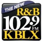 Logo da emissora KBLX 102.9 FM