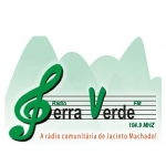 Logo da emissora Rádio Serra Verde 104.9 FM