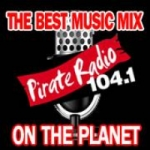 Logo da emissora Radio KBOX 104.1 FM