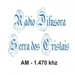 Logo da emissora Rádio Serra dos Cristais 1470 AM