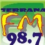 Logo da emissora Rádio Serrana 98.7 FM