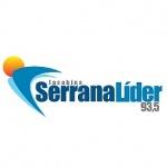 Logo da emissora R�dio Serrana L�der 93.5 FM