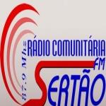 Logo da emissora R�dio Sert�o 87.9 FM