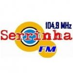 Logo da emissora Rádio Serrinha 104.9 FM
