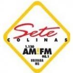Logo da emissora R�dio Sete Colinas 98.1 FM