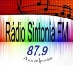 Logo da emissora R�dio Sintonia 104.9 FM