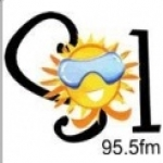 Logo da emissora Rádio Sol 95.5 FM
