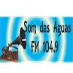Logo da emissora Rádio Som das Águas 104.9 FM