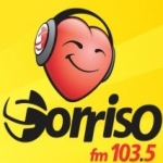 Logo da emissora R�dio Sorriso 103.5 FM