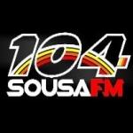 Logo da emissora R�dio Sousa 104.3 FM