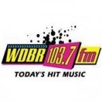 Logo da emissora WDBR 103.7 FM